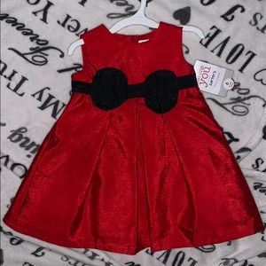 Red and black bow dress ❤️